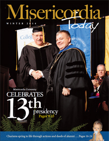 MU Today Winter 2014 front cover - Click to here to download a complete version in .pdf format
